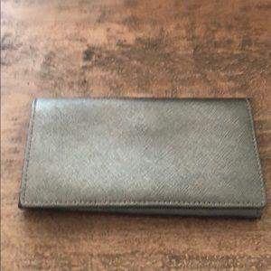 Gunmetal bifold wallet
